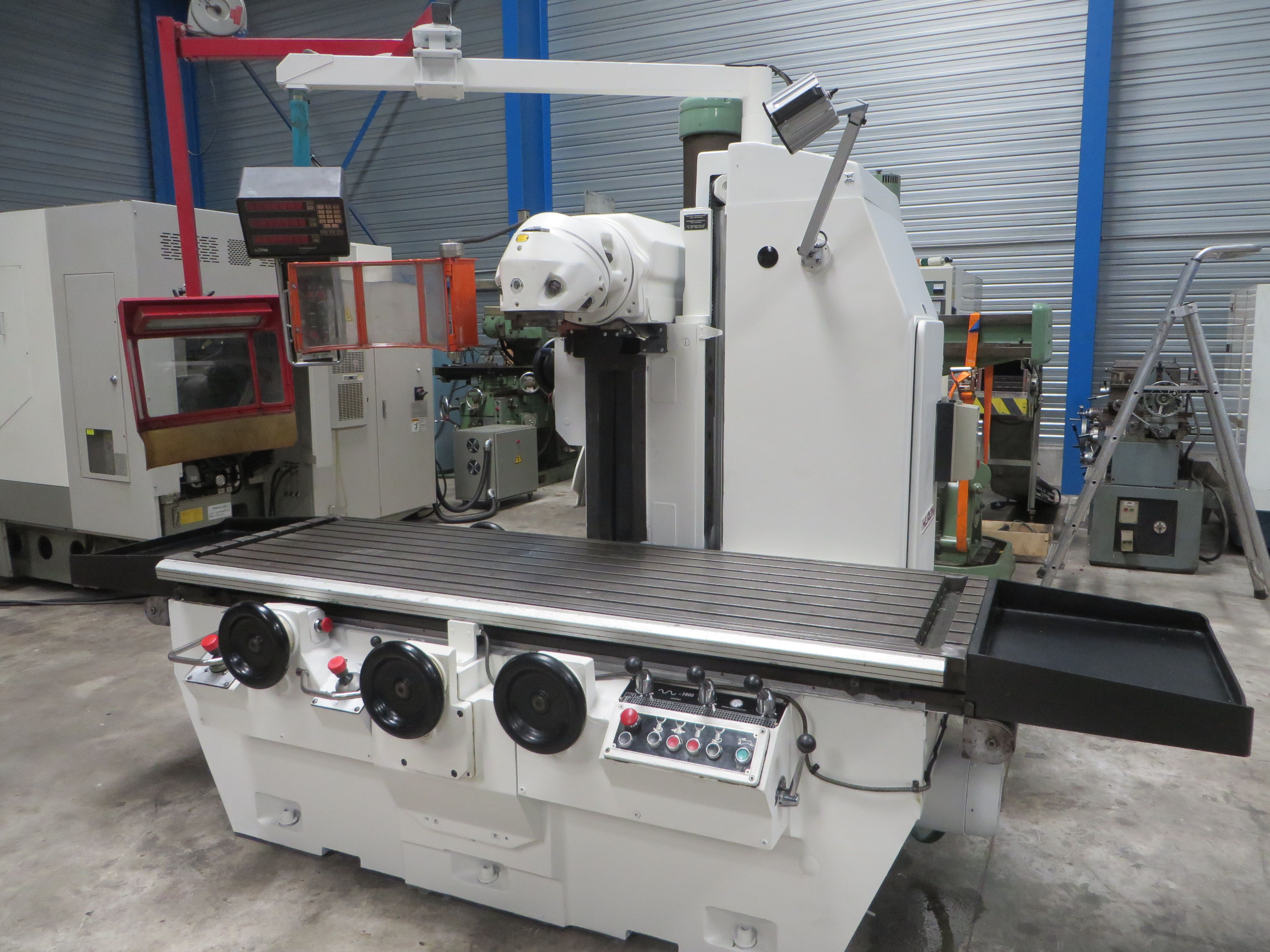 All Types Of New Milling Machines And Used Milling Machines For Sale >> Bed Type Milling Machine Huron Pu 771