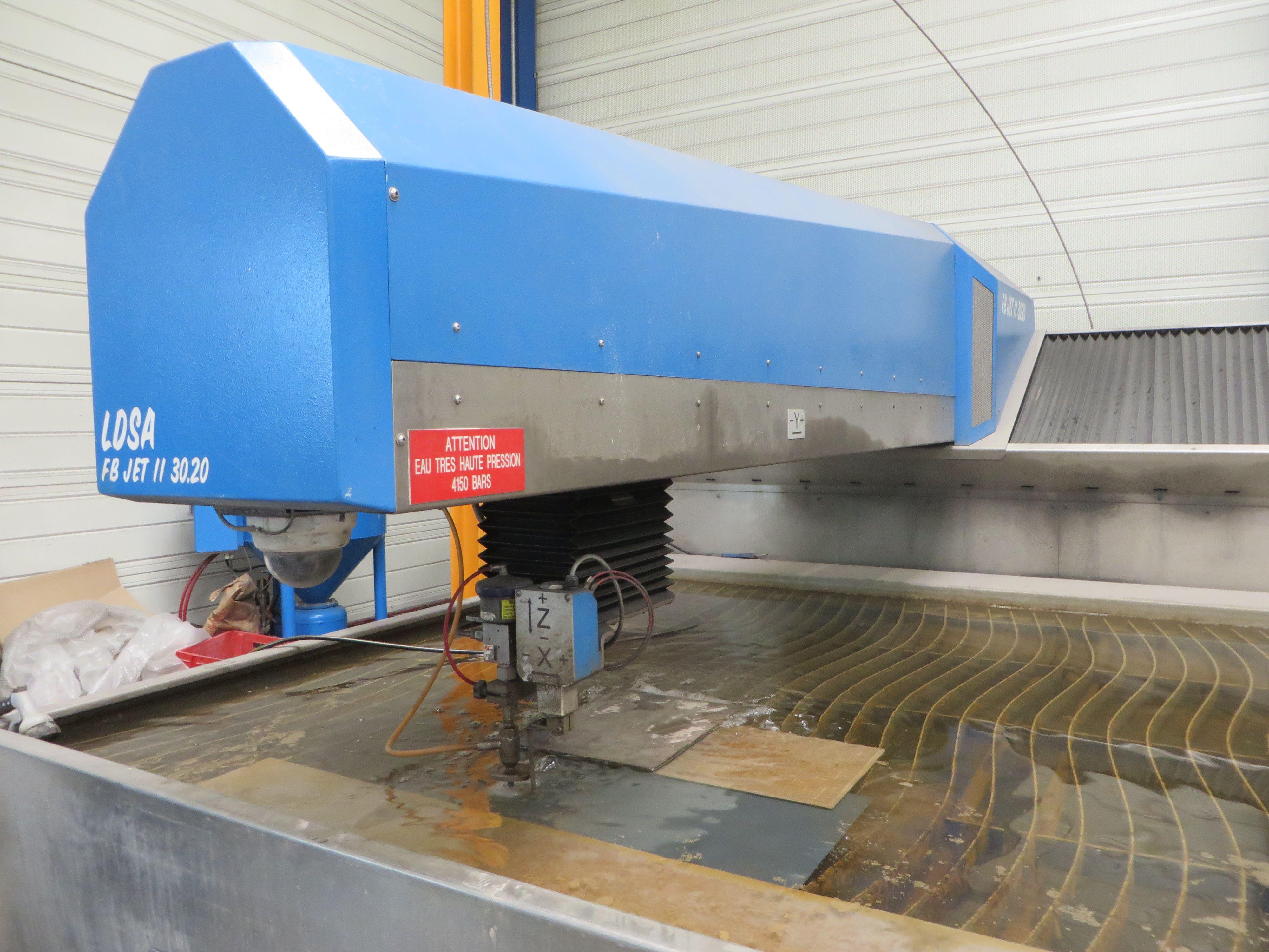 Waterjet cutting LDSA FBJE 30 30 - 1T / Working area : 3000